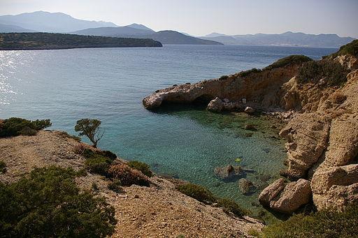 By Sokoban (Own work) [Public domain], via Wikimedia Commons http://commons.wikimedia.org/wiki/File%3AIstron_Bay_Crete_Greece_10.jpg