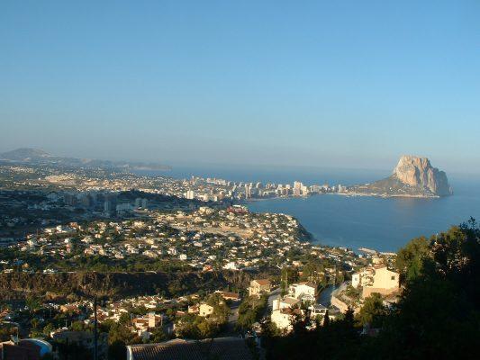 Курорт город Кальпе (Calpe) – Коста Бланка Испания